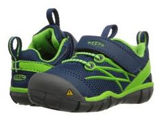 Keen Kids Chandler CNX (Toddler) (Poseidon/Jasmine Green) Boys Shoes