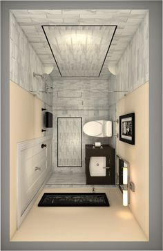 1000 images about ensuite inspiration on pinterest for Tiny ensuite designs