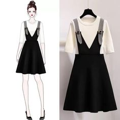 Girls Fashion Clothes, Teen Fashion Outfits, Mode Outfits, Cute Fashion, Look Fashion, Stylish Outfits, Fashion Drawing Dresses, Fashion Dresses, Cute Skirt Outfits