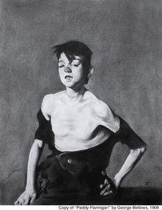 "Copy of ""Paddy Flannigan"" by George Bellows - Jared Flynn"