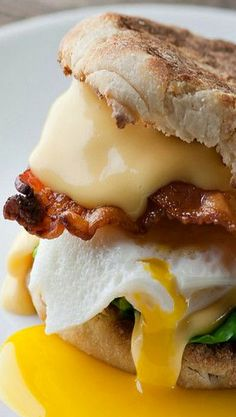 The Best English Muffin Breakfast Sandwich