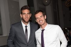Juan Martin Del Potro and Andy Murray