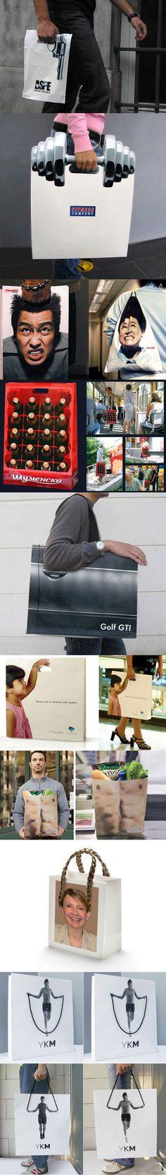 Clever bag designs.