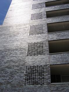 Aston Zeeburg, Amsterdam Brick Facade, Brick Building, Amsterdam, Skyscraper, Material, Buildings, Multi Story Building, Modern, Brick