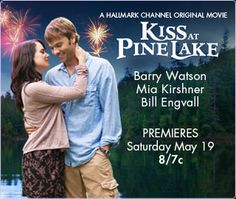 Kiss At Pine Lake ist ein 2012 Hallmark Channel-Originalfilm mit Barry Watson, Mia Kirshner, Bill En Romance Movies, Comedy Movies, Scary Movies, Great Movies, Film Movie, Mia Kirshner, Hallmark Channel, Christmas Movies On Tv, Holiday Movies