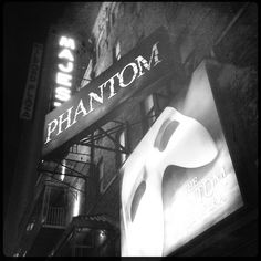 Phantom of the Opera at the Majestic Theatre, NYC