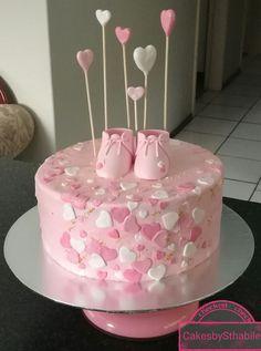 Baby shower cake from CakesbySthabile