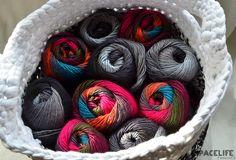 Colourful Fenna Yarn by Wibra