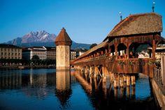 Luzern - die wohl bekannteste Stadt der Schweiz bei Touristen. www.luzern.com