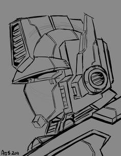 G1 Prime Sketch by AJSabino.deviantart.com on @deviantART