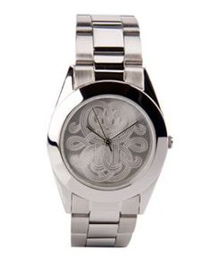 Montre par Gas Bijoux. I love their large and chunky pieces. Their logo is great too!