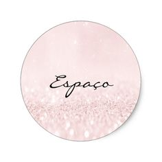 Shop Beauty Salon Glitter Pink Pastel Lashes Cleaner Classic Round Sticker created by luxury_luxury. Pink Wallpaper, Round Stickers, Mary Kay, Contemporary Style, Salons, Lashes, Just For You, Glitter, Classic