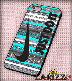 """Just Do It, Nike on Aztec Mint for iPhone 4/4s, iPhone 5/5S/5C/6/6 , Samsung S3/S4/S5, Samsung Note 3/4 Case """"007"""""""
