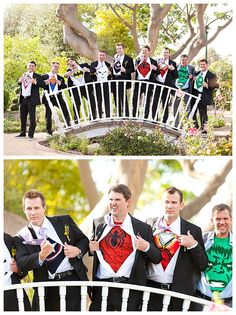 Funny groomsmen idea!