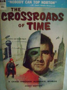 THE CROSSROADS OF TIME Andre Norton Vintage  PB Ace 12311 Science Fiction