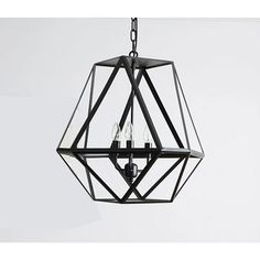 $259.00 / piece Fixture Width: 54 cm (21 inch) Fixture Length : 54 cm (21 inch) Fixture Height:54 cm (21 inch) Chain/Cord Length : 50 cm (20 inch) Color : black Materials:iron