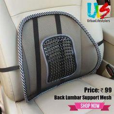 ULS Car Seat Massage Chair Back Lumbar Support Mesh http://bit.ly/1OdBJNY