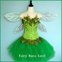 TINKERBELL Costume  adult fgairy costume  by FairyNanaLand on Etsy, $185.00