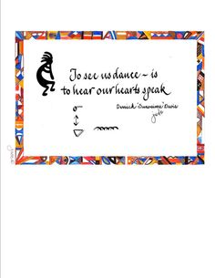 Calligraphic Native American Quote  by CalligraphicArtisan, $10.00
