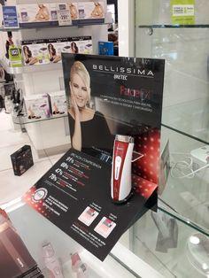 Bellissima Face FX - display lanzamiento - diseño y producción