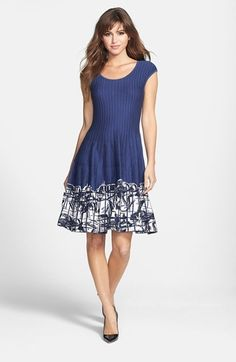 Move over Little Black Dress. The new Little Blue Dress is here. I love this interesting dress that's both classic and playful.