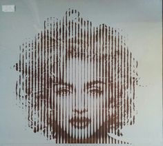 Madonna 30h stencil cutting This is 1/2 of stencil for painting size 120x180cm   #madonna #music #streetart #popart #museum #gallery #exhibition