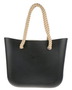 Minimalism is always in fashion and Fenn Collection hascapitalised on it in sleek form with its OriginalTote Bag. This cleanly designed EVA bag boasts a spacious, cloth-lined interiorto meet your aesthetic and practical needs. It features:Thick rope handlesSilver-tone grommetsZip closureEmbossed word-markAmple storage space
