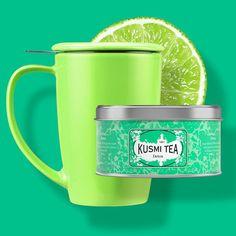 Kusmi Tea Detox. Zielona herbata i trawa cytrynowa idealna mieszanka na początek dnia.  http://homeandfood.eu/p/12/126/herbata-sypana-w-puszce-125-g-detox-kusmi-tea-herbata-w-puszkach-herbaty.html