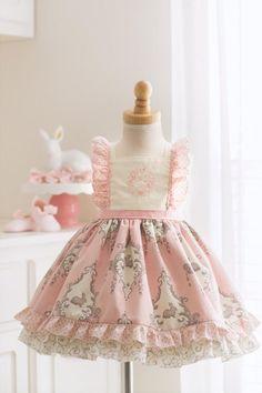 91a9060a7 April Pink Easter Flutter Dress Toddler Girl Easter Outfit, Dress For Girl  Child, Toddler