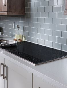 Wolf Electric Cooktops are safe, energy efficient, easy to clean, and deliver plenty of cooking power and performance. Stove Top Range, Cook Top Stove, Kitchen Stove Top, Gas Stove Top, Kitchen Appliances, Kitchen Sink Design, Kitchen Layout, Electric Cooktop, New Home Builders