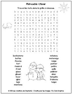 ... mot cacher on Pinterest | Word search, Learn french and Earth day