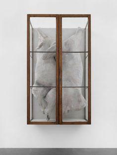 Les deux II, 2008-2010 Installation view, Zurich, Switzerland by Berlinde De Bruyckere