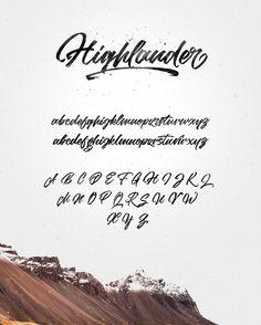 Highlander marker script by kavoon on @creativemarket