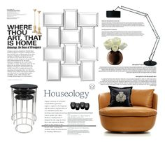 """Houseology -  Luxe living"" by krischigo ❤ liked on Polyvore featuring interior, interiors, interior design, home, home decor, interior decorating, Eichholtz, Moooi, LSA International and Timorous Beasties"