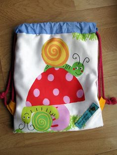 Mochila para el almuerzo - Backpack for lunch  Patrón de Pandielleando