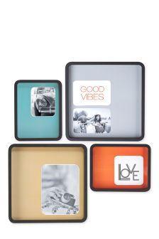 Set Of 4 Colour Mount Frames