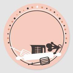 Baking Logo Design, Cake Logo Design, Food Logo Design, Bakery Logo, Logo Restaurant, Logo Sticker, Sticker Design, Logo Doce, Ideas Para Logos