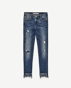 b9a98e0bc7 Imagen 8 de JEANS POWER STRETCH SKINNY FIT TIRO BAJO de Zara Jeans Mujer