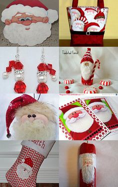 Santa Will Be Here Soon! by Laurie Wearp on Etsy--Pinned with TreasuryPin.com