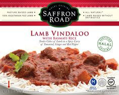 Saffron Road Lamb Vindaloo Entree