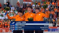 Olympische Spelen 2014, First, Second and Third Place for The Netherlands!