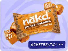 Nakd Ball Caramel Salé x 4 - Nākd Ball (Nibbles) - E-Boutique