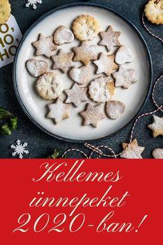Kellemes ünnepeket 2020-ban! Best Christmas Cookie Recipe, Best Cookie Recipes, Quick Recipes, Yummy Recipes, White Chocolate Cookies, Chocolate Pastry, How To Make Cookies, Food To Make, Making Cookies