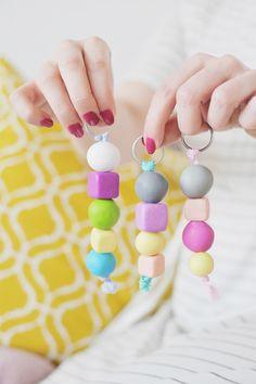 Do It Yourself: Schlüsselanhänger aus Fimo / Modelliermasse basteln – Bonny und Kleid: https://bonnyundkleid.com/2017/02/do-it-yourself-schluesselanhaenger-aus-fimo/