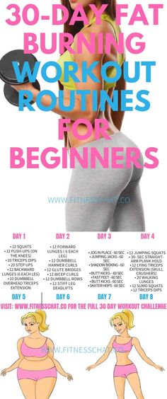 Lose weight fast with this Fat Burning Workout Routines for Beginners. Join the 30 day challenge for a full body workout, ab workout, leg workout, and upper body workout plan for women Upper Body Workout Plan, Leg Workout Plan, 30 Day Ab Workout, Toned Legs Workout, Full Body Workout Routine, Workout Routines For Beginners, Leg Toning, Weights Workout For Women, Workout Plan For Women