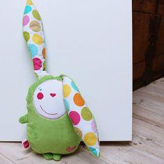 spring easter bunny, green bunny rabbit, bunny rabbit toy, spring baby gift, bunny plush, easter bunny deccor, toddler toy, cute bunny doll