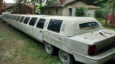 . Barn Finds, Limo, Taxi, Abandoned, Awesome, Left Out, Ruin