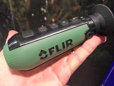 FLIR Shatters Thermal Price Barrier With The New Scout TK, Weight just six ounces, the FLIR Scout TK easily fits into a pocket and is operable with one hand.
