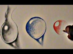 Easy Ways to Draw Realistic Water drops - YouTube