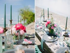 Organic Wedding Inspiration Set Along A River